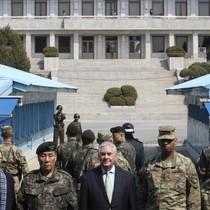 Ngoại trưởng Tillerson: Mỹ đã hết kiên nhẫn, có thể tấn công Triều Tiên