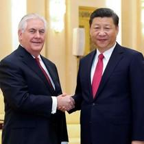 """Ông Tập Cận Bình, Tillerson mong """"kỷ nguyên hợp tác mới Mỹ - Trung"""""""