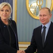 Ông Putin bất ngờ gặp ứng viên tổng thống Pháp thuộc đảng cực hữu