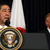Ông Abe ca ngợi Trump sau vụ Mỹ không kích Syria, điều tàu chiến đến bán đảo Triều Tiên