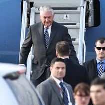 Ngoại trưởng Mỹ Rex Tillerson đã tới Moscow để bàn chuyện hệ trọng