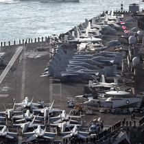 Triều Tiên đe dọa phá hủy tàu sân bay Mỹ Carl Vinson, dinh Tổng thống Hàn Quốc
