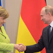 Ông Putin lên tiếng sau cuộc gặp với Thủ tướng Đức ở Nga