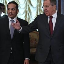 """Khủng hoảng vùng Vịnh: Ngoại trưởng Qatar đến Moscow, Nga nói """"không can thiệp"""""""