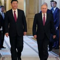 Ông Putin và ông Tập Cận Bình hội đàm tại điện Kremlin trước thềm G20