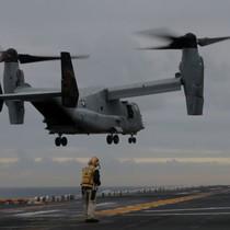 Máy bay quân sự Mỹ rơi ngoài khơi Australia