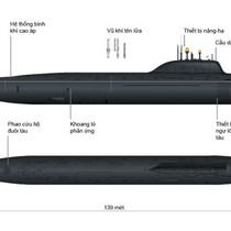 Khám phá sức mạnh siêu tàu ngầm hạt nhân Ulyanovsk của Nga