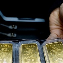 Tăng mạnh, giá vàng lên cao nhất trong hơn 1 tháng