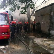 Cháy Công ty giày dép Hải Hưng thiệt hại nhiều tỷ đồng