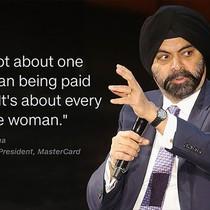 """CEO Master Card: """"Ở công ty tôi, nữ giới được đối xử tối thiểu phải bằng nam giới"""""""
