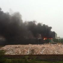 Cháy lớn tại Nhà máy đường Thành Thành Công Tây Ninh