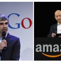 Cổ phiếu Google, Amazon đang chạy đua đến mốc 1.000 USD
