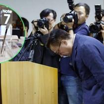 """Samsung sẽ """"xử"""" 200 cán bộ cấp cao sau vụ Note 7"""