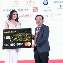 Nam A Bank đồng hành cùng Á hậu Lệ Hằng tại Miss Universe 2016