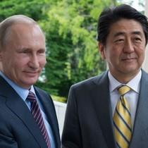 Ông Putin, Abe đến suối nước nóng bàn về tranh chấp lãnh thổ
