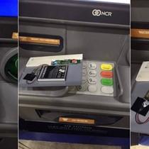 Phát hiện thiết bị lạ được gắn tại trạm ATM