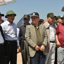 Các nguyên lãnh đạo tỉnh Quảng Ninh thăm dự án FLC Hạ Long, sân bay Vân Đồn