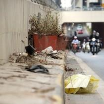 Hầm chui hơn 500 tỷ ở Hà thành nhếch nhác, ngập rác