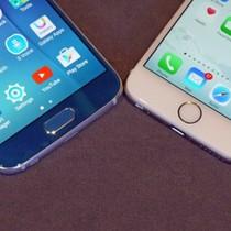 Cuộc chiến màn hình giữa iPhone 8 và Galaxy S8