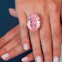 """""""Phát sốt"""" với kim cương siêu đắt đỏ hơn 1.300 tỷ đồng"""