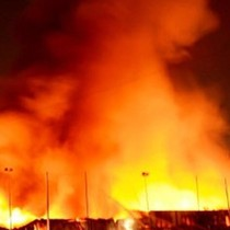 Cháy dữ dội trong khu công nghiệp Nhơn Trạch, Đồng Nai