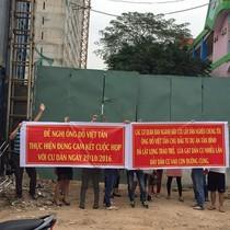 Chậm giao nhà, chủ đầu tư dự án Tân Bình Apartment hứa rồi... để đấy