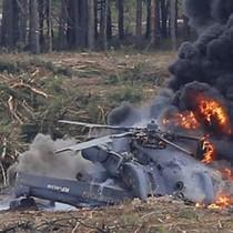 Máy bay trực thăng chở 12 người rơi tại Thổ Nhĩ Kỳ