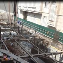 Hà Nội: Gần chục nhà dân bị ảnh hưởng do công trình thi công liền kề