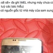 """Rao bán Galaxy S8 """"chôm"""" từ nhà máy Samsung Thái Nguyên"""