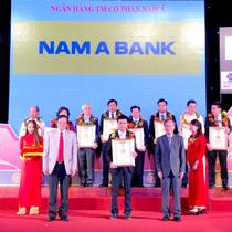 Nam A Bank đạt nhiều giải thưởng trước thềm kỷ niệm 25 năm thành lập