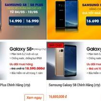 Loạn giá Galaxy S8 ở Việt Nam
