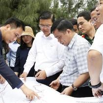 Tập đoàn FLC khảo sát thực địa triển khai dự án 5.000 tỷ tại Nghệ An