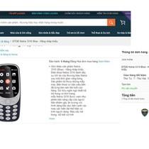 Cảnh giác khi mua Nokia 3310 giá rẻ trên Lazada