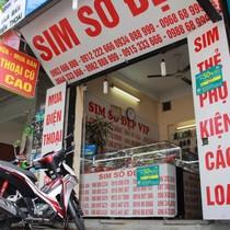 Đại lý SIM thẻ lo giảm doanh thu nếu phải chụp ảnh chân dung khách