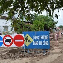 Dân kêu trời vì dự án nâng cấp đô thị thi công... ì ạch