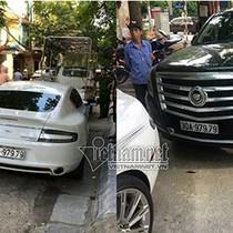 Siêu xe 15 tỷ biển giả chở vũ khí nóng trên đường Hà Nội