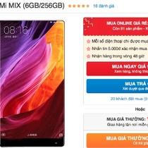 Mi Mix giảm giá gần 8 triệu đồng trong vòng 3 tháng