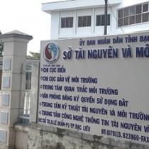 Bắt 3 cán bộ Sở Tài nguyên-môi trường tỉnh Bạc Liêu