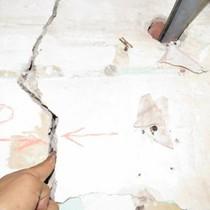 Dự án 536A Minh Khai gây lún, nứt nhà, dân sống trong sợ hãi