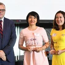 PVcomBank nhận giải thưởng về Mobile Banking và Core Banking của ABF