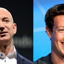 Ông chủ Amazon và Facebook kiếm hơn 40 tỷ USD từ đầu năm