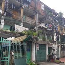 Dân sợ hãi sống trong chung cư cấp D