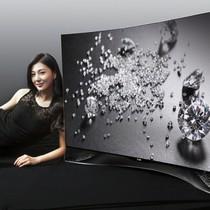 LG ra mắt siêu phẩm TV OLED cong nạm pha lê Swarovski