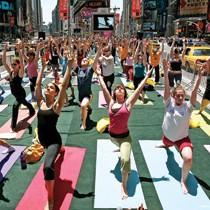 Yoga - cách mạng thầm lặng của người nhà băng