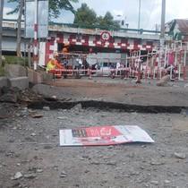 """Vụ mặt đường tại trung tâm TP.HCM phát nổ: Giếng thoát nước thành """"bom"""" khí?"""