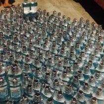 Phát hiện hàng nghìn chai mỹ phẩm không rõ nguồn gốc