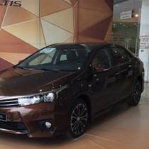 Toyota Corolla Altis ra mắt phiên bản 2016, đối thủ số 1 của Mazda 3