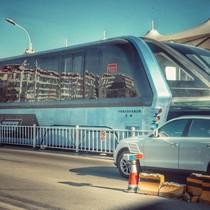 """Dự án """"siêu xe bus"""" của Trung Quốc rơi vào bế tắc"""