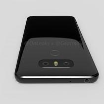 LG G6 sẽ dùng mặt lưng bằng kính và màn hình cong?