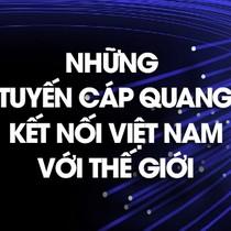 [Infographic] Thêm APG, Việt Nam có những tuyến cáp quang nào?